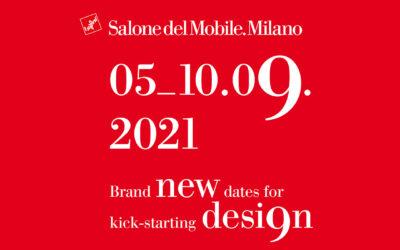 Salone del Mobile 2021 5-10 Settembre